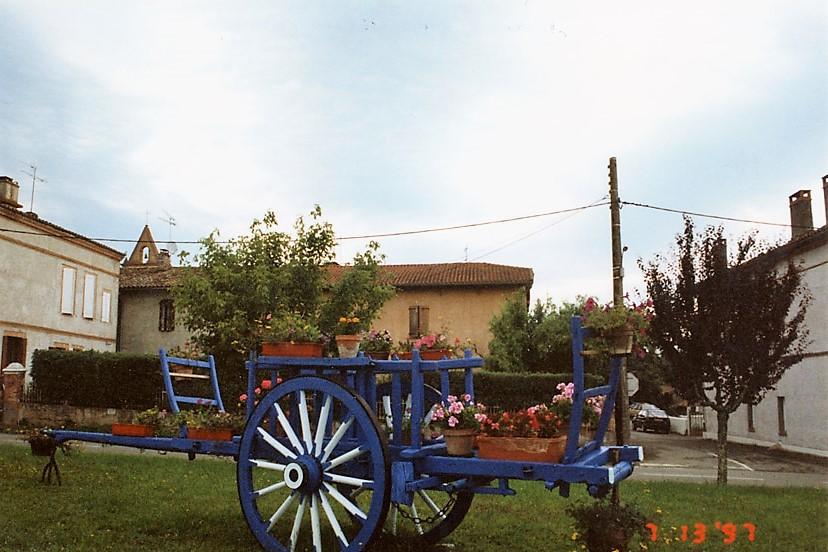 Comberouger village